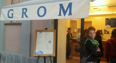 Photo of Ice Cream Shop Grom at Corso Libertà 4, Vercelli 13100, Italy