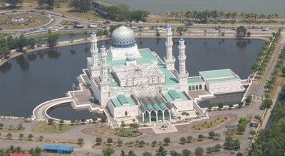 Photo of Mosque Masjid Bandaraya at Likas, Kota Kinabalu 88400, Malaysia