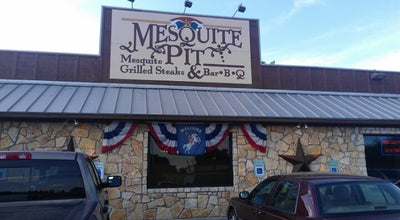 Photo of BBQ Joint Mesquite Pit BBQ at 1201 Fort Worth Hwy, Weatherford, TX 76086, United States