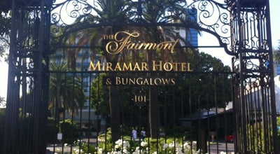 Photo of Hotel Fairmont Miramar Hotel & Bungalows at 101 Wilshire Blvd, Santa Monica, CA 90401, United States