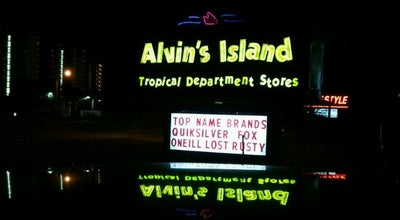 Photo of Gift Shop Alvin's Island Tropical Department Store at 24949 Perdido Beach Blvd, Orange Beach, AL 36561, United States