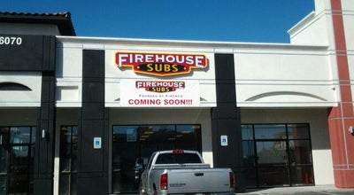 Photo of Sandwich Place Firehouse Subs at 6070 S Rainbow Blvd, Las Vegas, NV 89118, United States