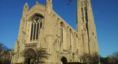Photo of Church Rockefeller Chapel at 5850 S Woodlawn Ave, Chicago, IL 60637, United States