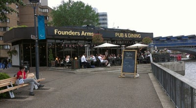 Photo of Pub Founder's Arms at 52 Hopton St, South Bank SE1 9JH, United Kingdom