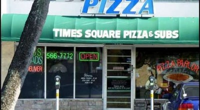 Photo of Pizza Place Times Square Pizza at 2304 E Oakland Park Blvd, Fort Lauderdale, FL 33306, United States