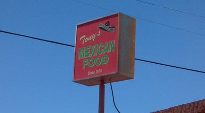 Photo of Mexican Restaurant Tony's Mexican Food at 301 W Main St, Avondale, AZ 85323, United States