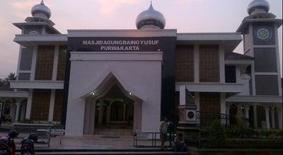 Photo of Mosque MASJID AGUNG PURWAKARTA (MOSQUE) at Kaum Purwakarta, PURWAKARTA, JAWA BARAT, Indonesia