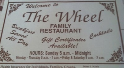 Photo of Diner The Wheel Restaurant at 7430 Indianapolis Blvd, Hammond, IN 46324, United States