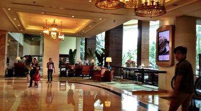 Photo of Hotel Bar EDSA Shangri-la Hotel Lounge at 1 Garden Way Ortigas Center, Pasig City 1650, Philippines