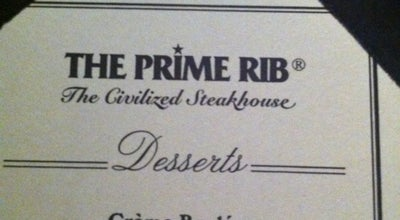 Photo of Steakhouse The Prime Rib at 2020 K St Nw, Washington, DC 20006, United States