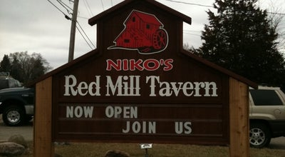Photo of American Restaurant Niko's Red Mill Tavern at 1040 Lake Ave, Woodstock, IL 60098, United States