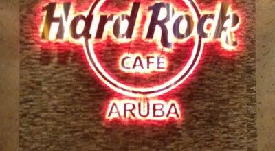 Photo of American Restaurant Hard Rock Cafe Aruba at Palm Beach 55, Noord, Aruba