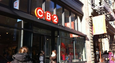 Photo of Furniture / Home Store CB2 at 451 Broadway, New York, NY 10013, United States