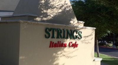 Photo of Italian Restaurant Strings Italian Cafe at 731 E Yosemite Ave, Merced, CA 95340, United States
