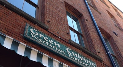 Photo of Restaurant Green Cuisine at 560 Johnson St, Victoria, BC V8W 3C6, Canada