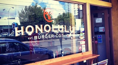 Photo of Burger Joint Honolulu Burger Co at 1295 S Beretania St, Honolulu, HI 96814, United States