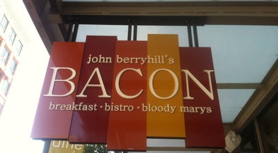 Photo of Cafe John Berryhill's Bacon at 915 W Idaho St., Boise, ID 83702, United States