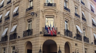 Photo of Hotel Hôtel Balzac at 6 Rue Balzac, Paris 75008, France