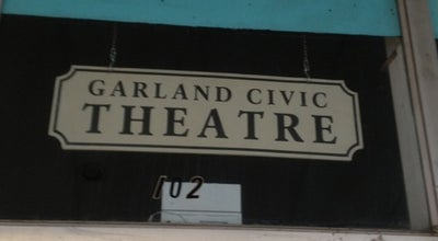 Photo of Theater Garland Civic Theatre at 108 N 6th St, Garland, TX 75040, United States