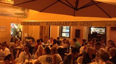 Photo of Mediterranean Restaurant Restaurant du Gesù at 1 Place Du Jésus, Nice 06300, France