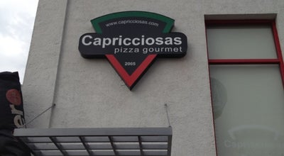 Photo of Pizza Place Capricciosas pizza gourmet at Ave. Rufino Tamayo 475, Saltillo, Mexico