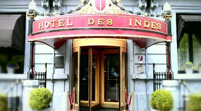 Photo of Hotel Hotel Des Indes at Lange Voorhout 54-56, Den Haag 2514 EG, Netherlands