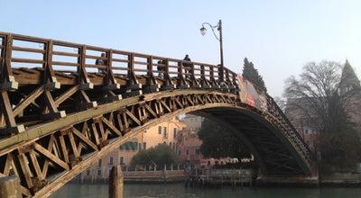 Photo of Bridge Ponte dell'Accademia at Ponte Dell'accademia, Venezia 30123, Italy