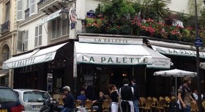 Photo of Cafe La Palette at 43 Rue De Seine, Paris 75006, France