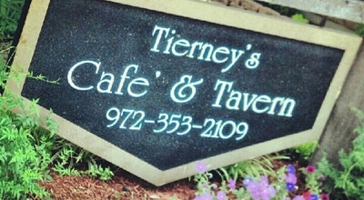 Photo of American Restaurant Tierney's Cafe & Tavern at 208 E Main St, Lewisville, TX 75057, United States
