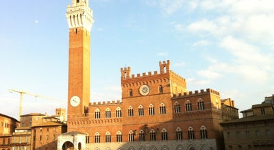 Photo of Historic Site Torre Del Mangia at Siena, Italy