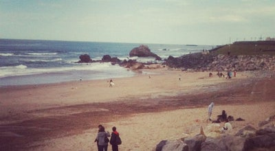 Photo of Beach Ilbarritz at France
