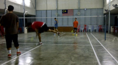 Photo of Tennis Court Dewan Badminton Semarak,Kanchong Darat at Banting, Malaysia