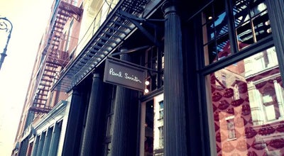 Photo of Clothing Store Paul Smith at 142 Greene St, New York, NY 10012, United States