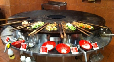 Photo of Asian Restaurant Genghis Grill at 1140 Woodruff Rd, Greenville, SC 29607, United States