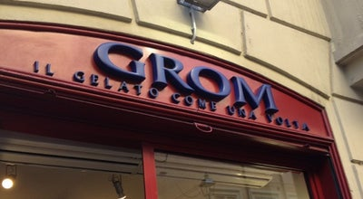 Photo of Ice Cream Shop Grom at Strada Luigi Carlo Farini 8/a, Parma 43121, Italy