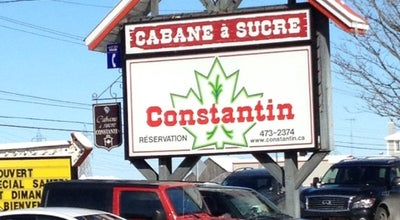 Photo of Comfort Food Restaurant Cabane à Sucre Constantin at 1054, Boul. Arthur-sauvé, Saint-Eustache, QC J7R 4K3, Canada