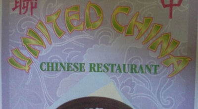 Photo of Chinese Restaurant United China at 332 Green Rd, Manchester, CT 06042, United States