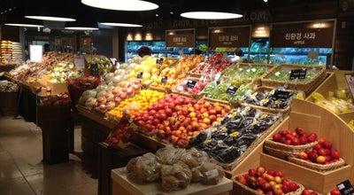 Photo of Supermarket SSG Food Market at 해운대구 우동 1408 아이파크 C1동 2층, 부산광역시, South Korea