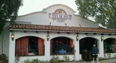 Photo of Mexican Restaurant Casa De Pico at 5500 Grossmont Center Dr, La Mesa, CA 91942, United States