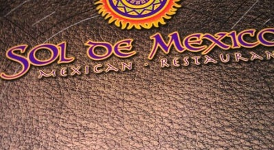 Photo of Mexican Restaurant Sol De Mexico at 125 N Bay St, Eustis, FL 32726, United States
