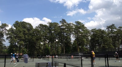 Photo of Tennis Court Pinehurst Tennis Club at Pinehurst, NC, United States