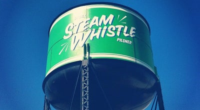 Photo of Brewery Steam Whistle Brewing at 255 Bremner Blvd., Toronto, ON M5V 3M9, Canada