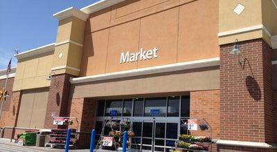 Photo of Big Box Store Walmart Supercenter at 11328 S Jordan Gtwy, South Jordan, UT 84095, United States