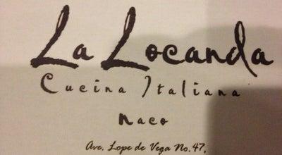 Photo of Italian Restaurant La Locanda at Av. Lope De Vega, Santo Domingo 10122, Dominican Republic