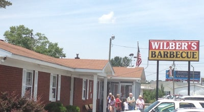 Photo of American Restaurant Wilber's Barbecue at 4172 Us Highway 70 E, Goldsboro, NC 27534, United States