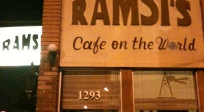 Photo of Mediterranean Restaurant Ramsi's Cafe On the World at 1293 Bardstown Rd, Louisville, KY 40204, United States