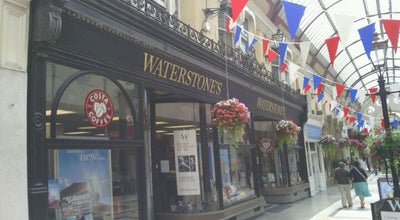 Photo of Bookstore Waterstones at 14-16 The Arcade, Bournemouth BH1 2AH, United Kingdom