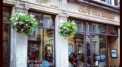 Photo of Tea Room Bettys Café Tea Rooms at 6-8 St. Helens Sq., York YO1 8QP, United Kingdom