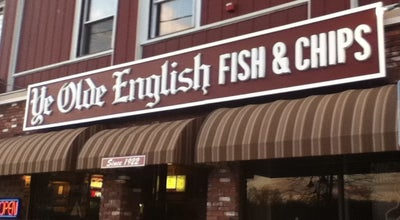 Photo of Fish and Chips Shop Ye Olde English Fish & Chip at 25 S Main St, Woonsocket, RI 02895, United States