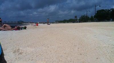 Photo of Beach Ocean Springs Beach at Ocean Springs, MS, United States